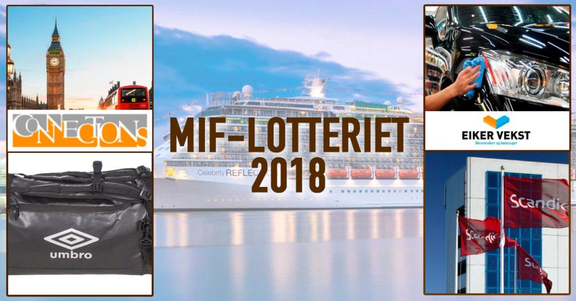 Vinnere MIF-lotteriet 2018/2019