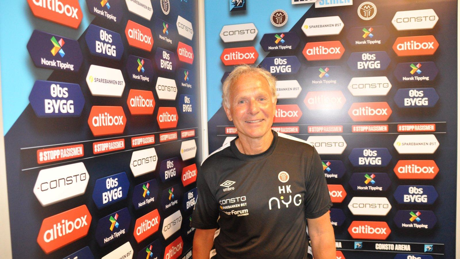 Hans Knutsen er Mjøndalens nye sportssjef.